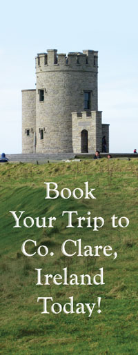 Book your trip to co. clare, ireland