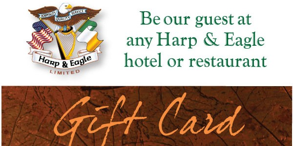 Harp & Eagle Gift Card